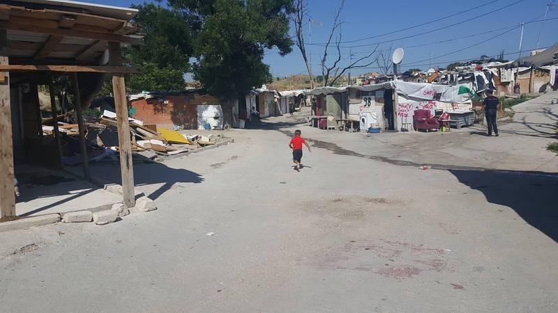 En el poblado llegaron a vivir 200 niños