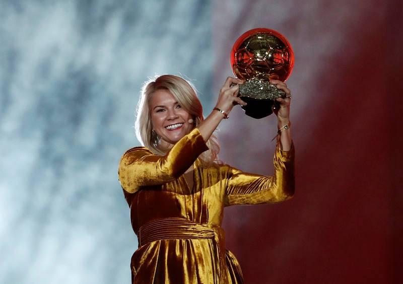 Gala Balón de Oro 2018 - Ada Hegerberg