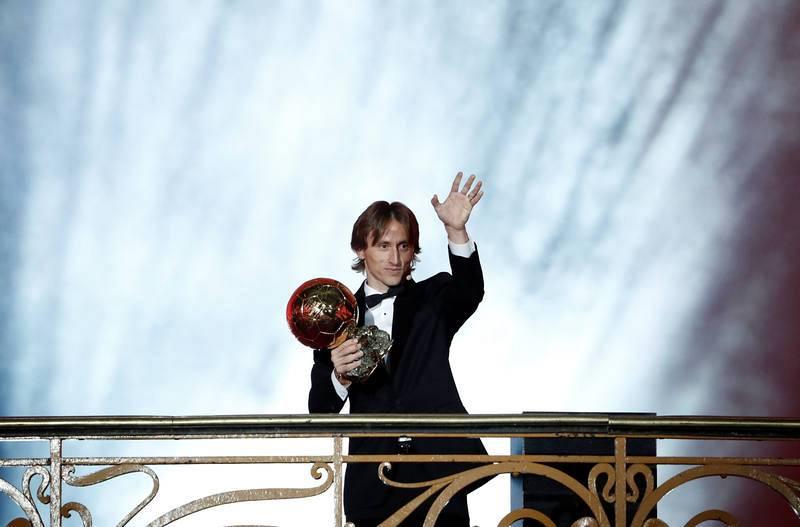 Gala Balón de Oro - Modric