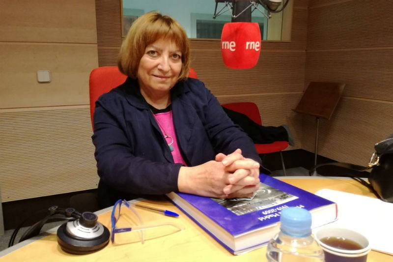 Aurora Moya - Autora de 'Metro de Madrid 1919-2009. Noventa años de historia'.