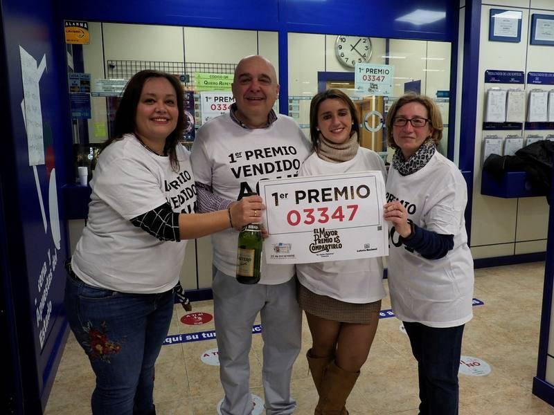 Cuenca celebra el Gordo