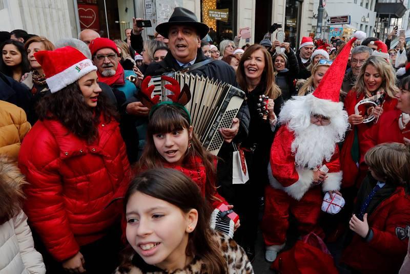 Navidad ortodoxa en Estambul, Turquía