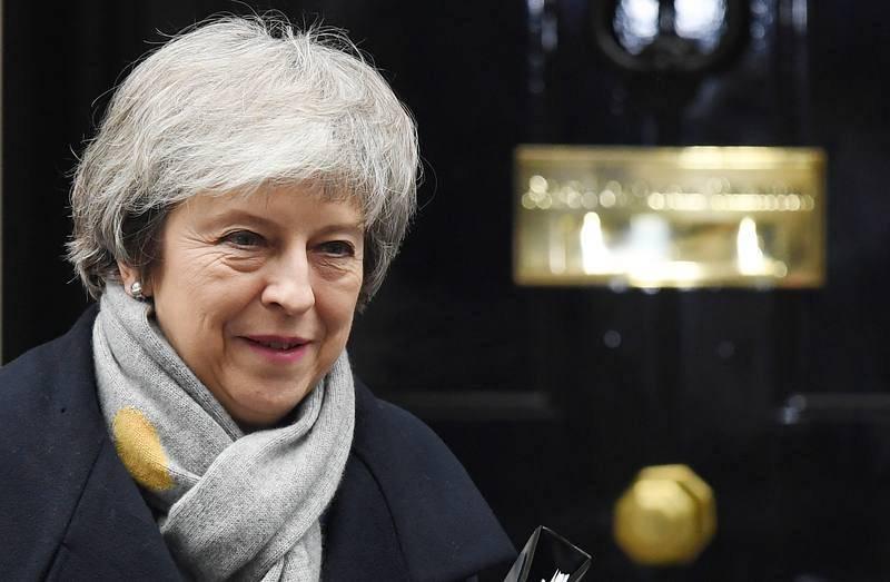 Theresa May, a las puertas del número 10 de Downing Street