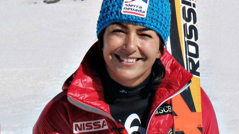 María José Rienda, esquiadora y actual secretaria de Estado para el Deporte