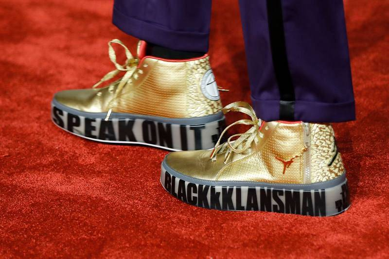 Los zapatos del director Spike Lee