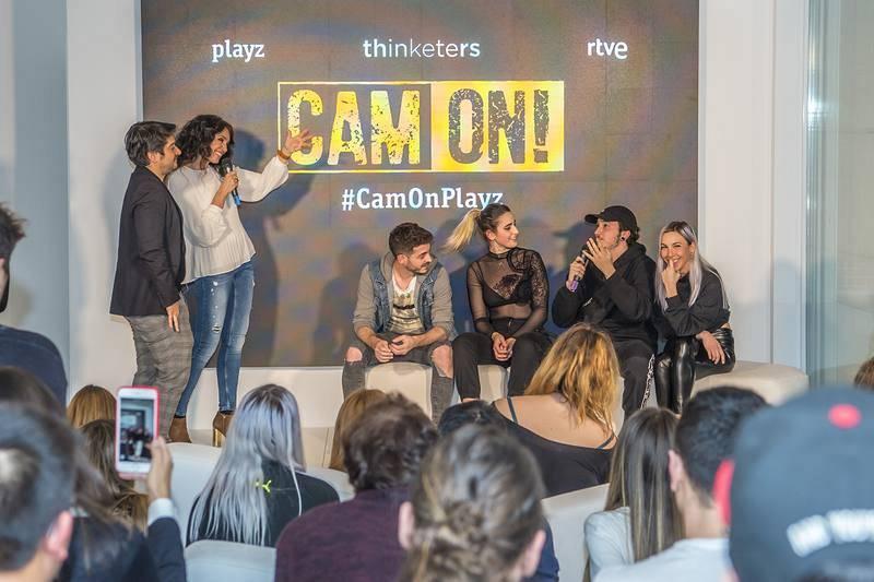 Presentación de 'Cam on'