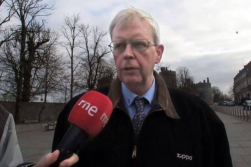 Joe Griffin, guía de Kilkenny.
