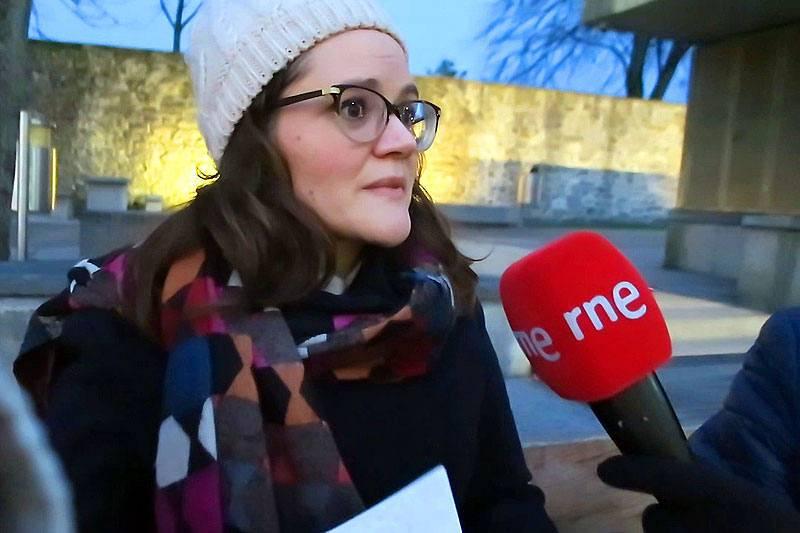 Cecilia Ferrari, guía de Irlanda.
