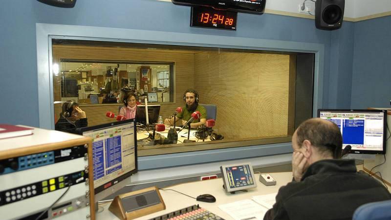 El estudio de Radio 5