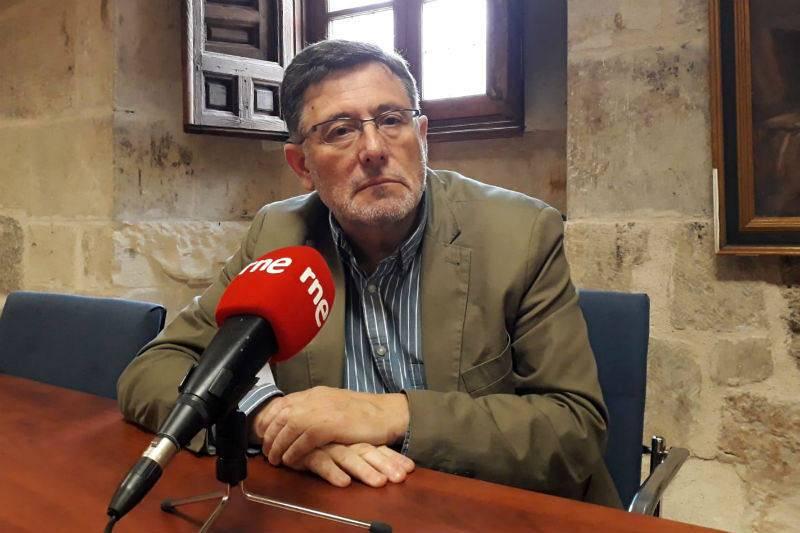 Luis Miguel Gutiérrez Torrecilla, historiador de la Universidad de Alcalá de Henares.