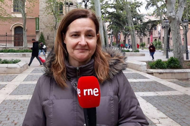 Mari Carmen Herráez, guía y técnico de turismo del Ayuntamiento de Alcalá de Henares.