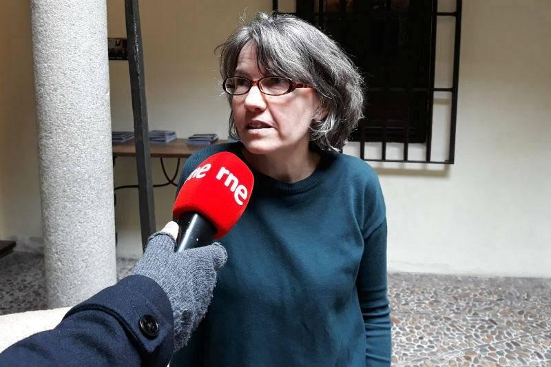 Eva Jiménez Manero, coordinadora del Museo Casa Natal de Cervantes.