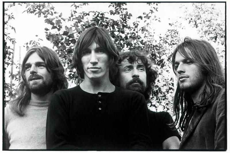 Richard Wright, Roger Waters, Nick Mason y David Gilmour, los cuatro miembros de la formación clásica de Pink Floyd.
