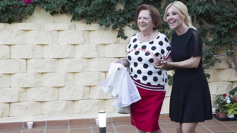 Cayetana y  Pilar, la madre de Pastora Soler