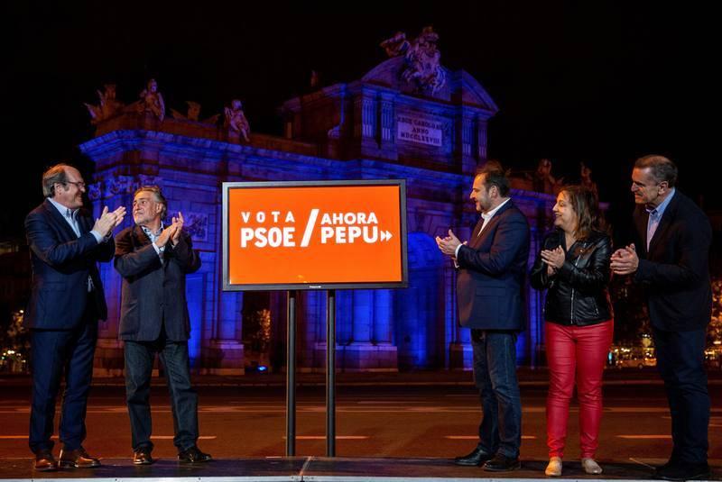 Arranque de campaña del PSOE en Madrid