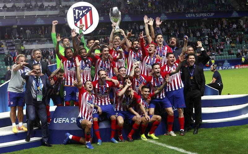 Mejores momentos de Godín - Supercopa de Europa 2018