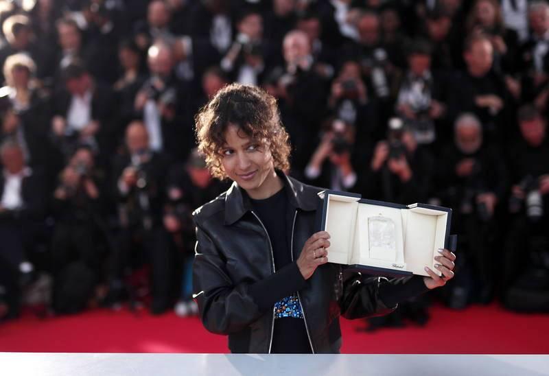 La cineasta franco-senegalesa Mati Diop, ganadora del Gran Premio del Jurado por 'Atlantique'.