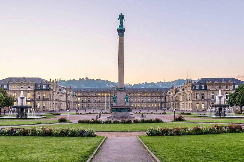 Palacio Nuevo de Stuttgart.