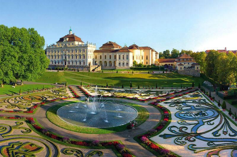 Jardines del Palacio Residencial de Ludwigsburg.