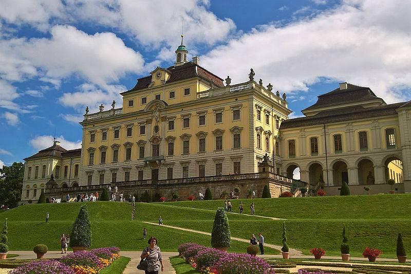 Palacio Residencial de Ludwigsburg.