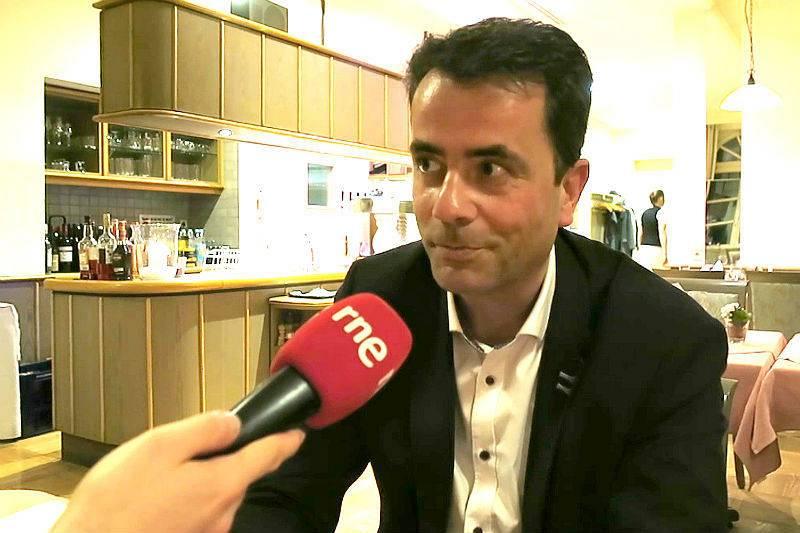 Elmar Kunz, director de la oficina de turismo de Ludwigsburg.