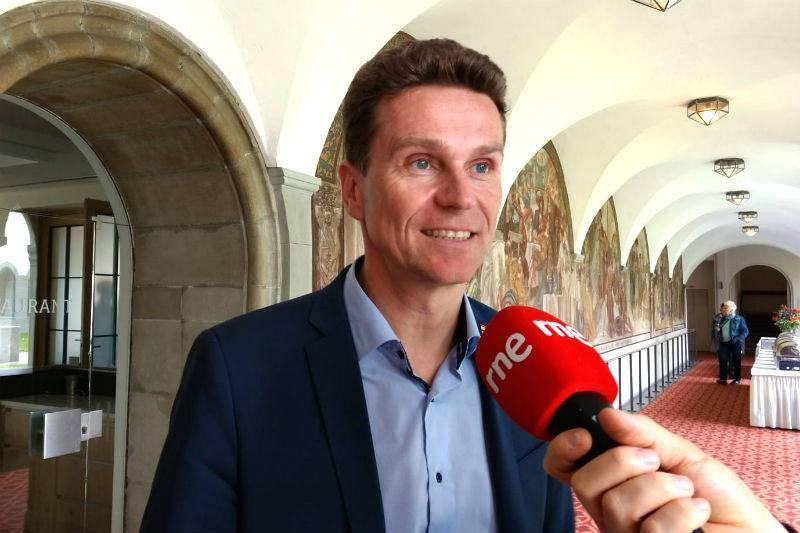 Eric Thiel, director de la oficina de turismo de Constanza.
