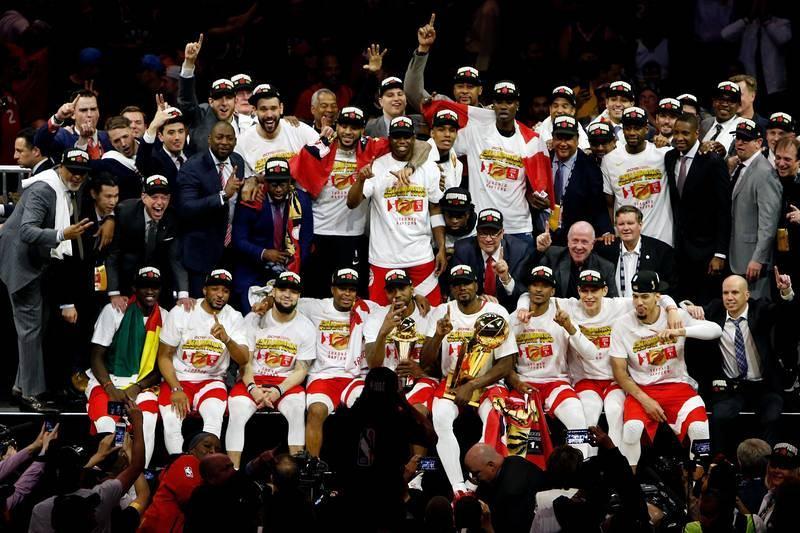 La victoria de los Raptors en la NBA