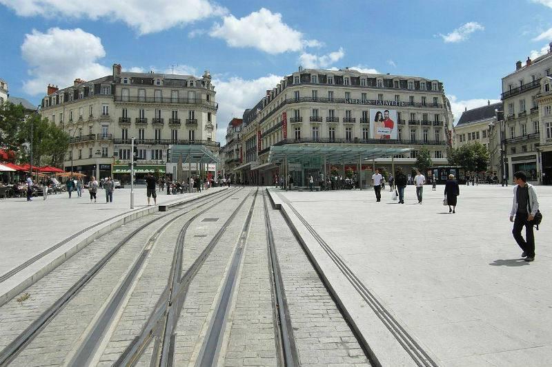 Place du Ralliement, el centro de Angers.