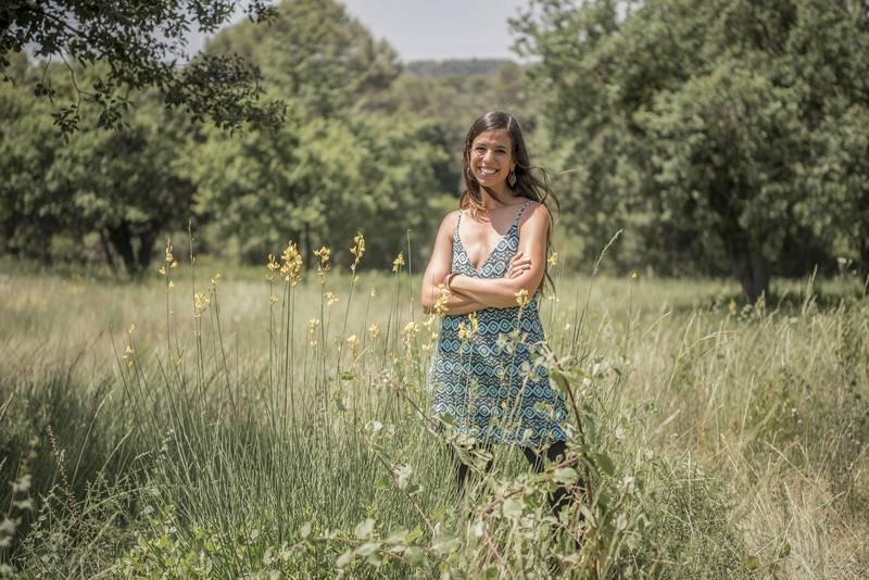Evelyn Segura, presentadora del programa ¡Qué Animal!