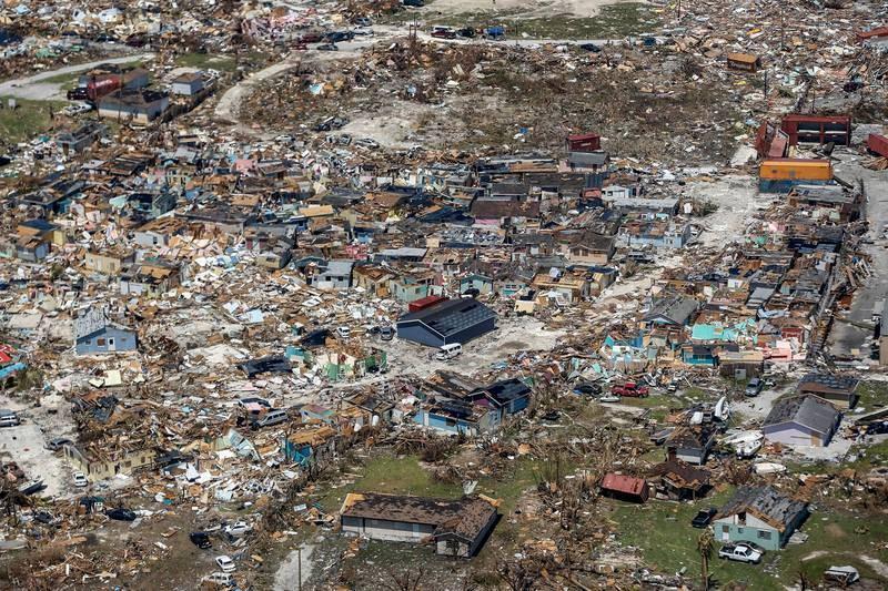"""El jefe humanitario de la ONU, Mark Lowcock, ha asegurado que Bahamas """"nunca ha visto nada de esta escala"""" al definir el impacto de Dorian."""