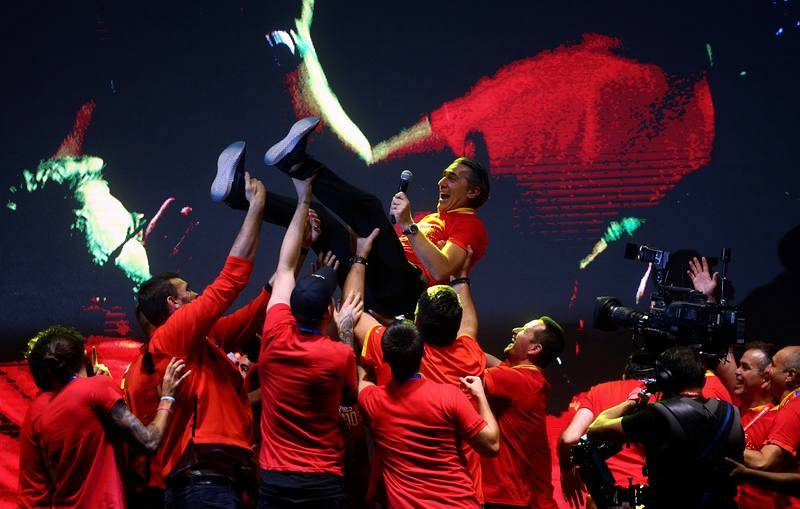 España, campeona del Mundo de baloncesto.