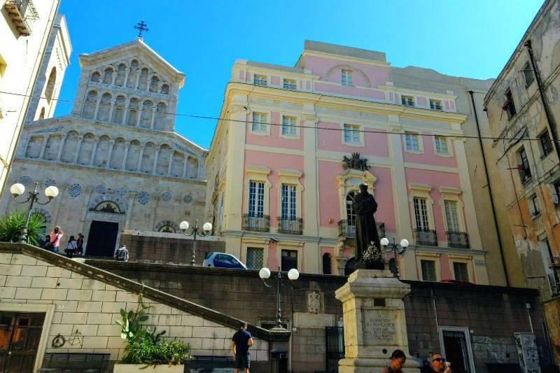 Catedral de Cagliari.
