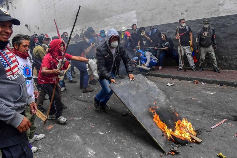 Protestas contra Moreno