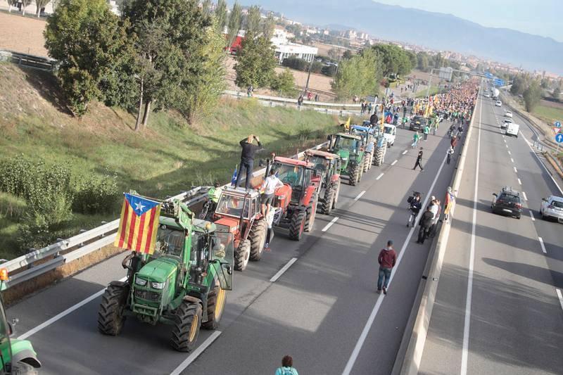 Independentistas inician las ''Marchas por la libertad''