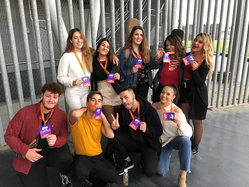 Los 'pases directos' han sido los primeros aspirantes a los que ha escuchado Noemí Galera en la Fase 1 del casting OT 2020 en Bilbao