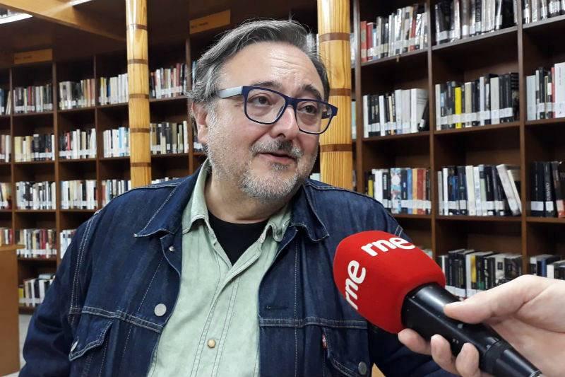 Eloy M. Cebrián, autor de 'Bajo la fría luz de octubre'.