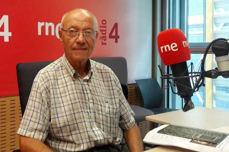 Jorge Núñez, catedrático de Física Cuántica y Astrofísica de la Universitat de Barcelona y director del Observatori Fabra.