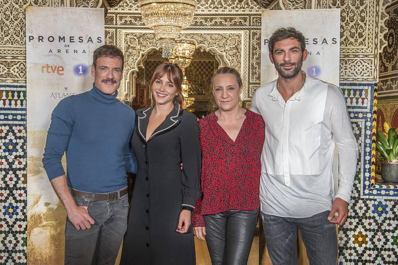 Daniel Grao, Andrea Duro, Blanca Portillo y Francesco Arca