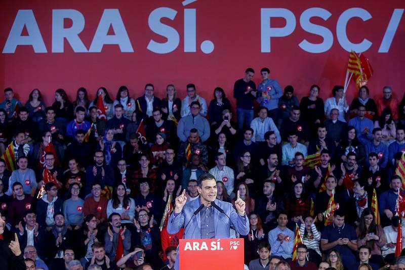Mitin final de campaña del PSOE