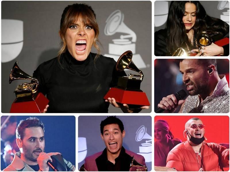 Las imágenes más divertidas de los Latin Grammy 2019