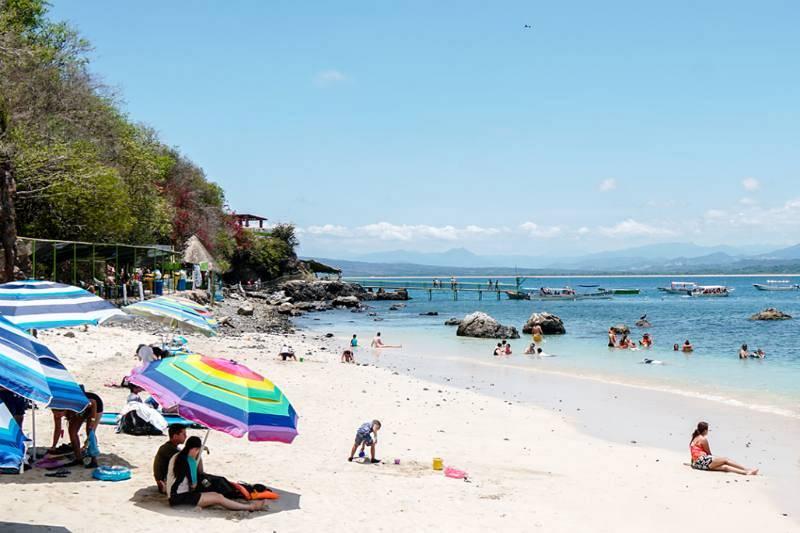 Playa de la Isla del Coral.