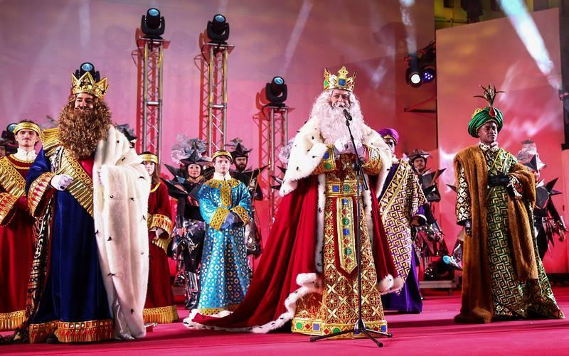 Discurso de los Reyes Magos al finalizar la tradicional cabalgata