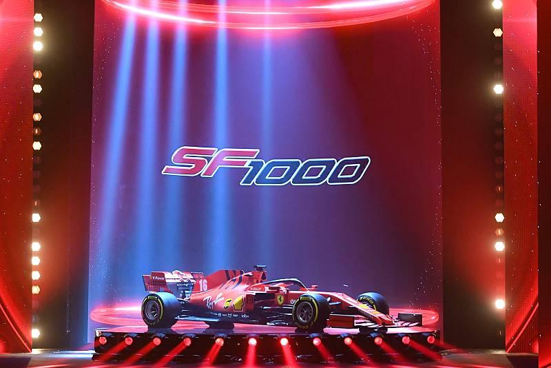 SF1000 Ferrari presentación