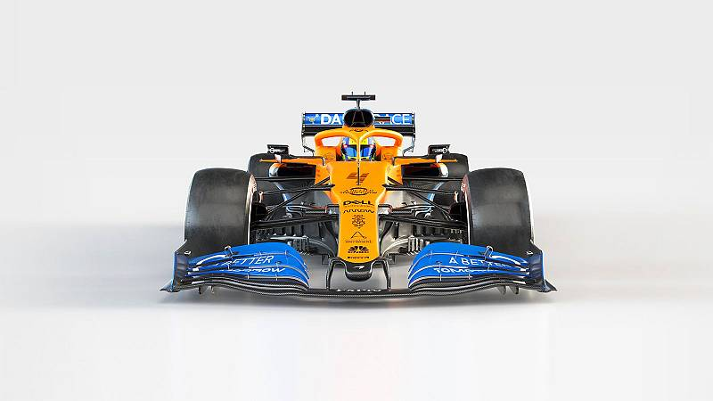 MCL35 McLaren 2020