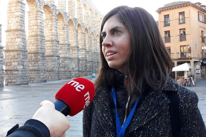 María Leiceaga, guía de Segovia