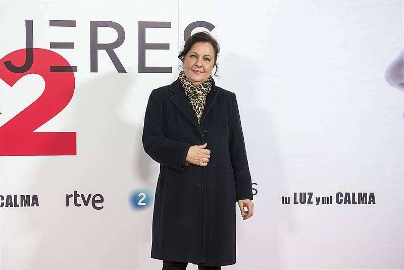 'Mujeres en La 2'. Presentación. Carmen Linares
