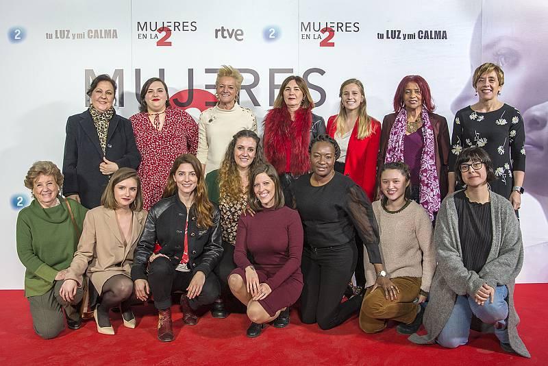 'Mujeres en La 2'. Presentación. Protagonistas