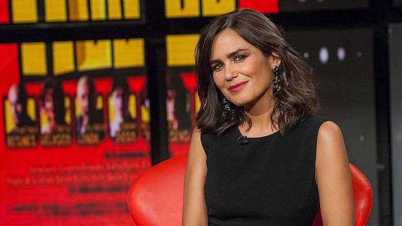 Elena Sánchez, presentadora de Historia de Nuestro Cine