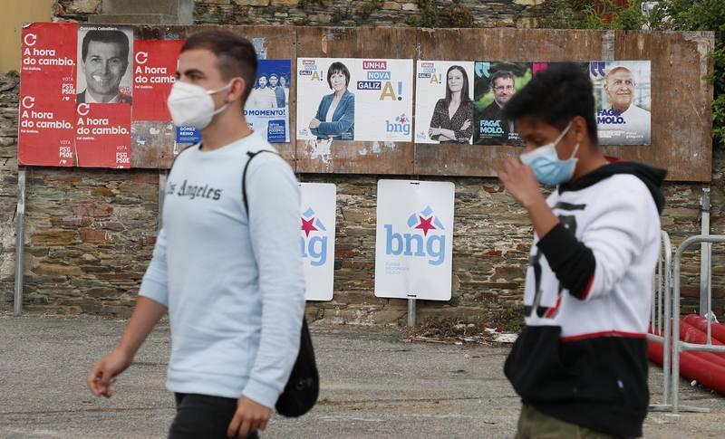 Elecciones gallegas 2020: Campaña y elecciones gallegas con mascarilla