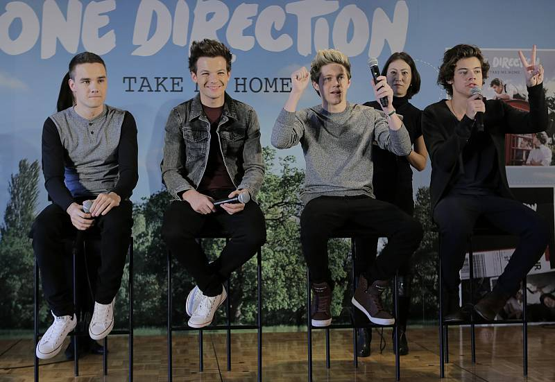 One Direction en Tokio (Enero de 2013).